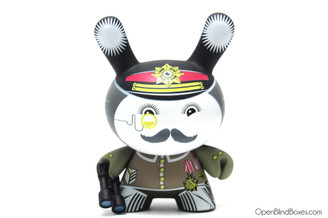 Ilovedust General Ye Olde English Dunny Kidrobot Front