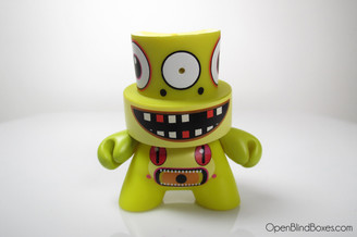 Dalek Series 2 Fatcap Yellow Front
