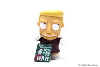 Zapp Brannigan Futurama Series 1 Kidrobot Front