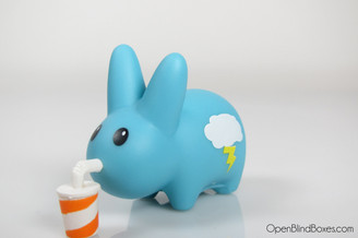 Blue Thunderstorm Happy Labbit Frank Kozik Left
