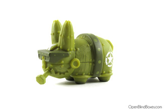 Mecha Green Lore Of The Labbit Frank Kozik Kidrobot Left