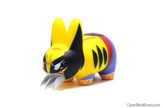 Wolverine Yellow Labbit Frank Kozik Marvel Kidrobot Left
