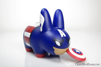 Captain America Labbit Frank Kozik Front