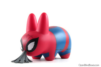 Spider-Man Marvel Labbit Frank Kozik Kidrobot Left