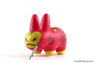 Iron Man Marvel Labbit Frank Kozik Kidrobot Left