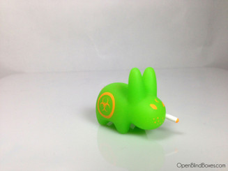 Green Biohazard Mini Smorkin Labbit Front