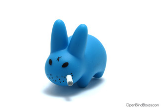 Blue Mini Smorkin Labbits Fried Chicken Frank Kozik Left