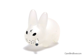 Clear Mini Smorkin Labbit Fried Chicken Frank Kozik Left