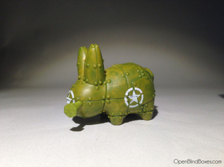 Army Mini Smorkin Labbit Frank Kozik Left