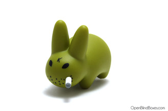 Olive Mini Smorkin Labbit Friend Chicken Frank Kozik Left