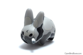 Grey Camo Mini Smorkin Labbit Fried Chicken Frank Kozik Left
