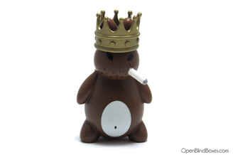 King Mini Smorkin Labbit Friend Chicken Frank Kozik Front