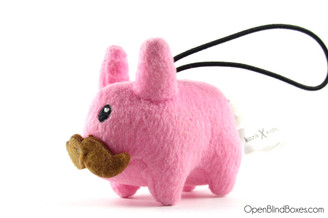 Pink Plush Mini Labbit Kidrobot Front