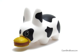 Mad Cow 2.5 Inch Labbit Frank Kozik Kidrobot Left