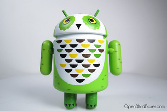 Gary Ham Whoogle The Owl Android Series 3 Front