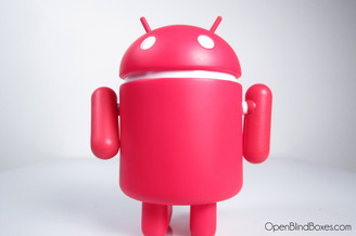 Google Red Android Series 3 Front