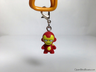 Iron Man Marvel Munny Zipper Pull