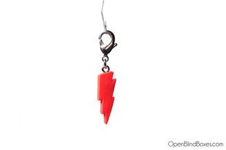 Red Lightning Munnyworld Zipper Pull Kidrobot