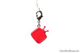 Red TV Munnyworld Zipper Pull Kidrobot