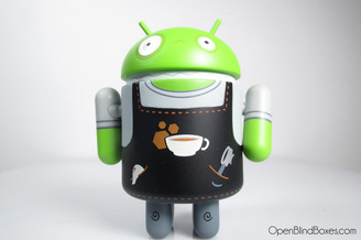Andrew Bell Barista Bot Android Series 3 Front