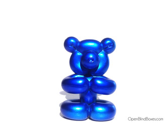 Pop Super Shiny Mini Series Blue Balloon Bear Front