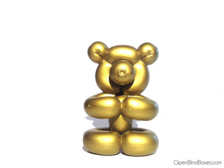 Pop Super Shiny Mini Series Gold Balloon Bear Front