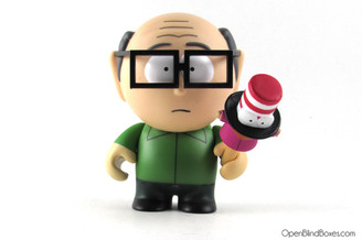 Mr. Garrison South Park Kidrobot Front