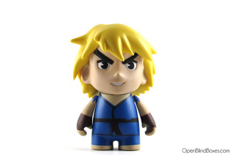 Blue Ken (Player 2) from Street Fighter Series 1 by Kidrobot Front