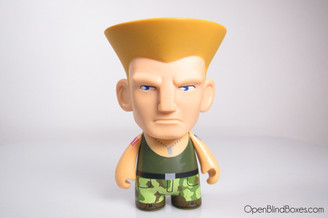 Guile Green Player 1 Street Fighter Series 1 Kidrobot Front