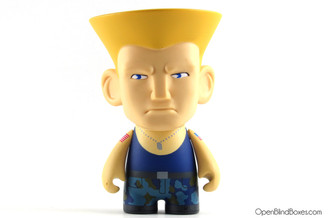 Guile Blue Player 1 Street Fighter Series 1 Kidrobot Front