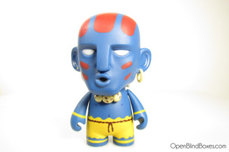 Blue Dhalsim Street Fighter Series 1 Front