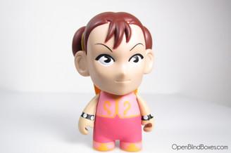 Chun Li Pink Player 2 Street Fighter Series 1 Kidrobot Front
