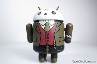 Huck Gee Professor Skully Mcrivethead Android Series 3 Front