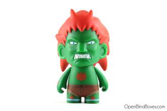 Green Blanka Street Fighter Series 1 Kidrobot Front