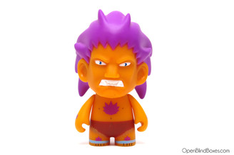 Blanka Orange Street Fighter Kidrobot Front