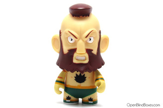 Green Zangief Street Fighter Series 2 Kidrobot Front