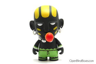 Black Dhalsim Street Fighter Series 2 Kidrobot Front