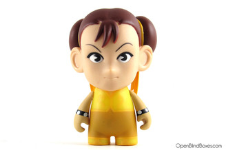 Yellow Chun Li Street Fighter Series 2 Kidrobot Front