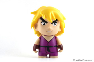 Purple Ken Street Fighter Series 2 Kidrobot Front
