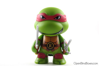Raphael TMNT Kidrobot Front