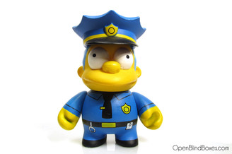 Chief Wiggam Simpsons Series 1 Kidrobot Front