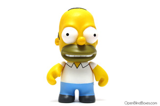 Homer Simpsons Series 1 Kidrobot Front
