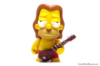 Hippie Homer Simpsons Series 1 Kidrobot Front