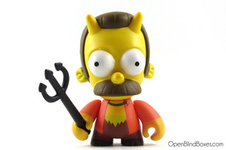 Devil Flanders Simpsons Series 1 Kidrobot Front