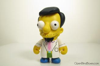 Dr. Nick Simpsons Series 2 Kidrobot Front