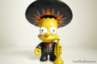 Mariachi Bart Simpsons Series 2 Kidrobot Front