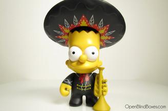 Mariachi Bart Simpsons Series 2 Kidrobot Front