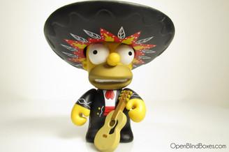 Mariachi Homer Simpsons Series 2 Kidrobot Front