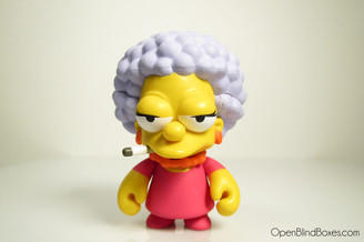 Patty Bouvier Simpsons Series 2 Kidrobot Front