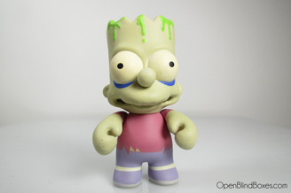 Zombie Bart The Simpsons Series 2 Kidrobot Front